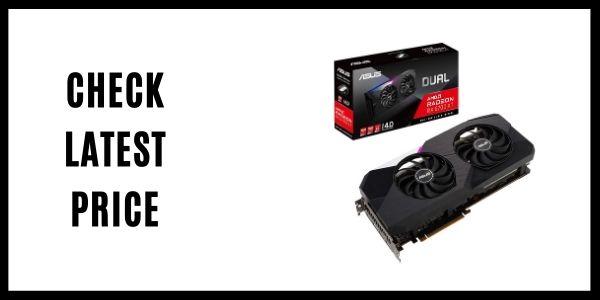 ASUS Dual AMD Radeon RX 6700 XT Standard Edition 12GB GDDR6 Gaming Graphics Card