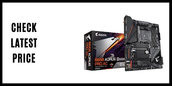 GIGABYTE B550 AORUS PRO Gaming Motherboard)