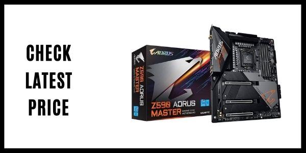 GIGABYTE Z590 AORUS Master (LGA 1200Intel Z590 Gaming Motherboard)