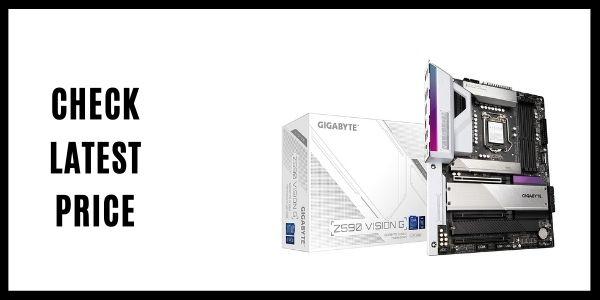 GIGABYTE Z590 Vision G (LGA 1200Intel Z590 Motherboard)